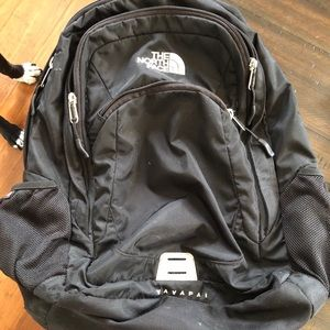 North Face backpack.